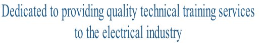 Dedicated to providing quality technical training services 